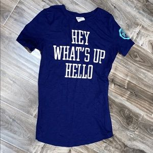 "vs PINK ""hey what's up hello"" T-Shirt"